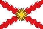 Combined flag of language: Spanish