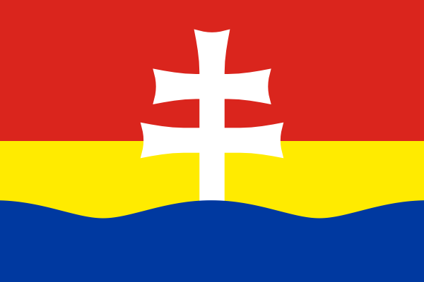 Flag of Zitny ostrov (Csallokoz)