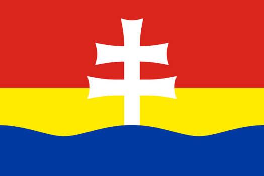 Flag of Zitny ostrov (Csallokoz)