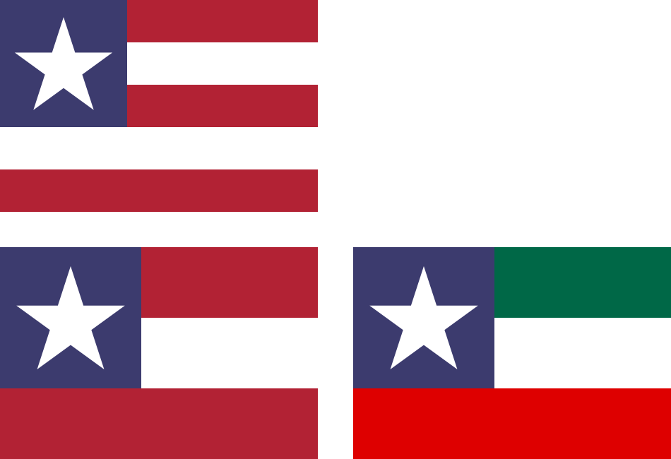 Six Californias >> Variant flags of the United States and NAU by hosmich on DeviantArt