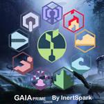Horizon Zero Dawn - GAIA Prime Logos
