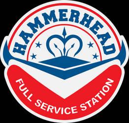 Final Fantasy XV Hammerhead logo by inertSpark