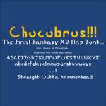 Final Fantasy XV - Map / Signpost Font - Chocobros