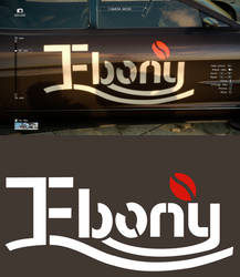Final Fantasy XV - Ebony Coffee Logo Regalia Decal