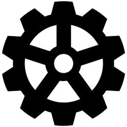 Animated cogwheel
