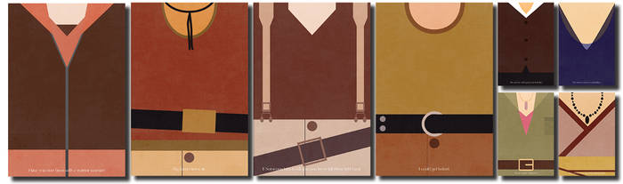 Firefly Character Minimalist Posters