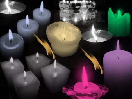 Candle Brush Set