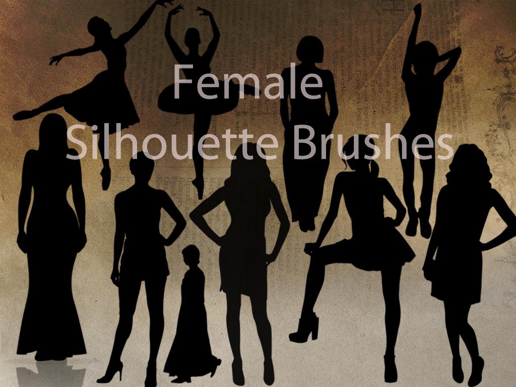 Female Silhouette Brushes