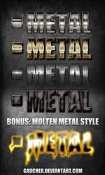 Metal Styles 1 + Bonus by Gaucher