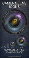 HD Camera Lens Icons