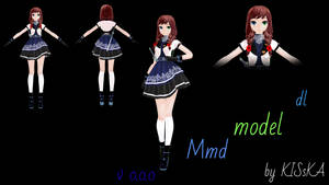 Minai Shinji (Model dl) by KISsKA433