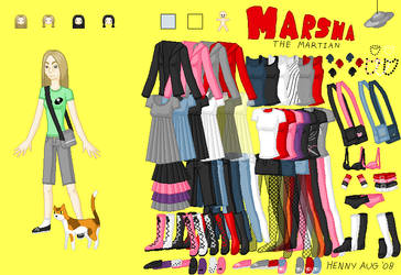 KiSS Doll: Marsha the Martian by kyuse