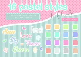 16 pastel styles for Photoshop #2 by Blokotek