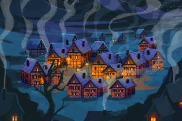 Village animation