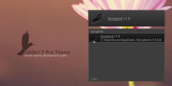 Colibri 7 Pro Theme by dave-stone