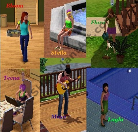 Winx Club Sims 2 - Bing images