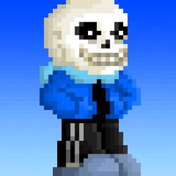 My first Sans pixel art