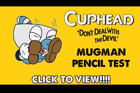 ANIMATION : Cuphead - Mugman Jump