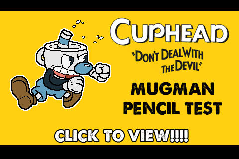 ANIMATION : Cuphead - Mugman Straight Attack