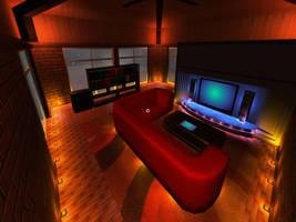 SmartHouse simulation in Quake by yakuzatemplarlol