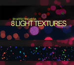 8 large light textures