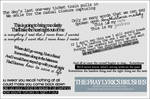 The Fray lyrics brush set by demolitionn