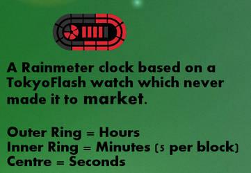 Race Track Clock 1.0 by OsricWuscfrea