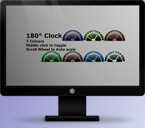 180 Clock 1.0 by OsricWuscfrea