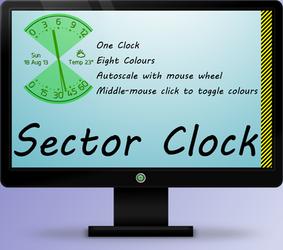 Sector Clock 1.0 by OsricWuscfrea
