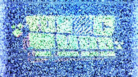 noisy broken TV screen animation