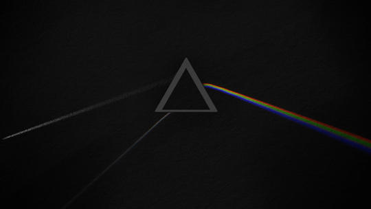 Darkside of the Moon Cover Animation with Luxcore