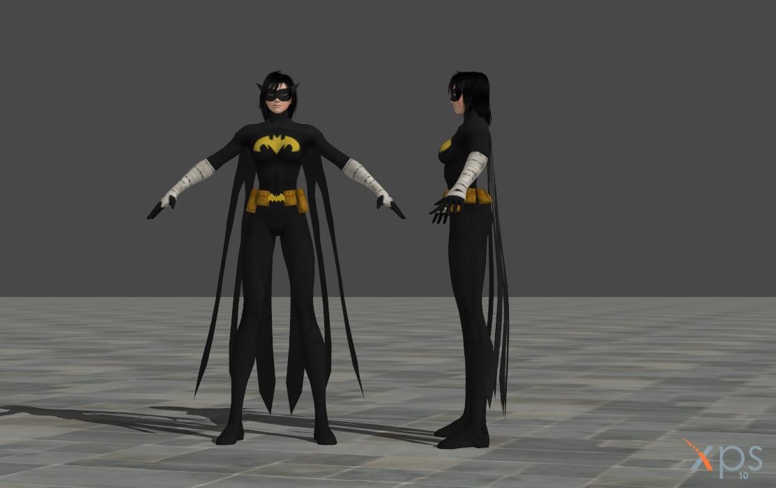 Cassandra Cain - Black Bat Mod by ranwolf1976