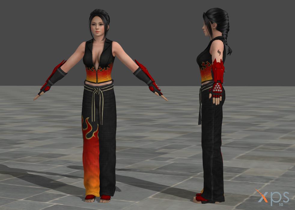 Tekken Jin Xnalara: Xnalara Tekken Models By Wakind On