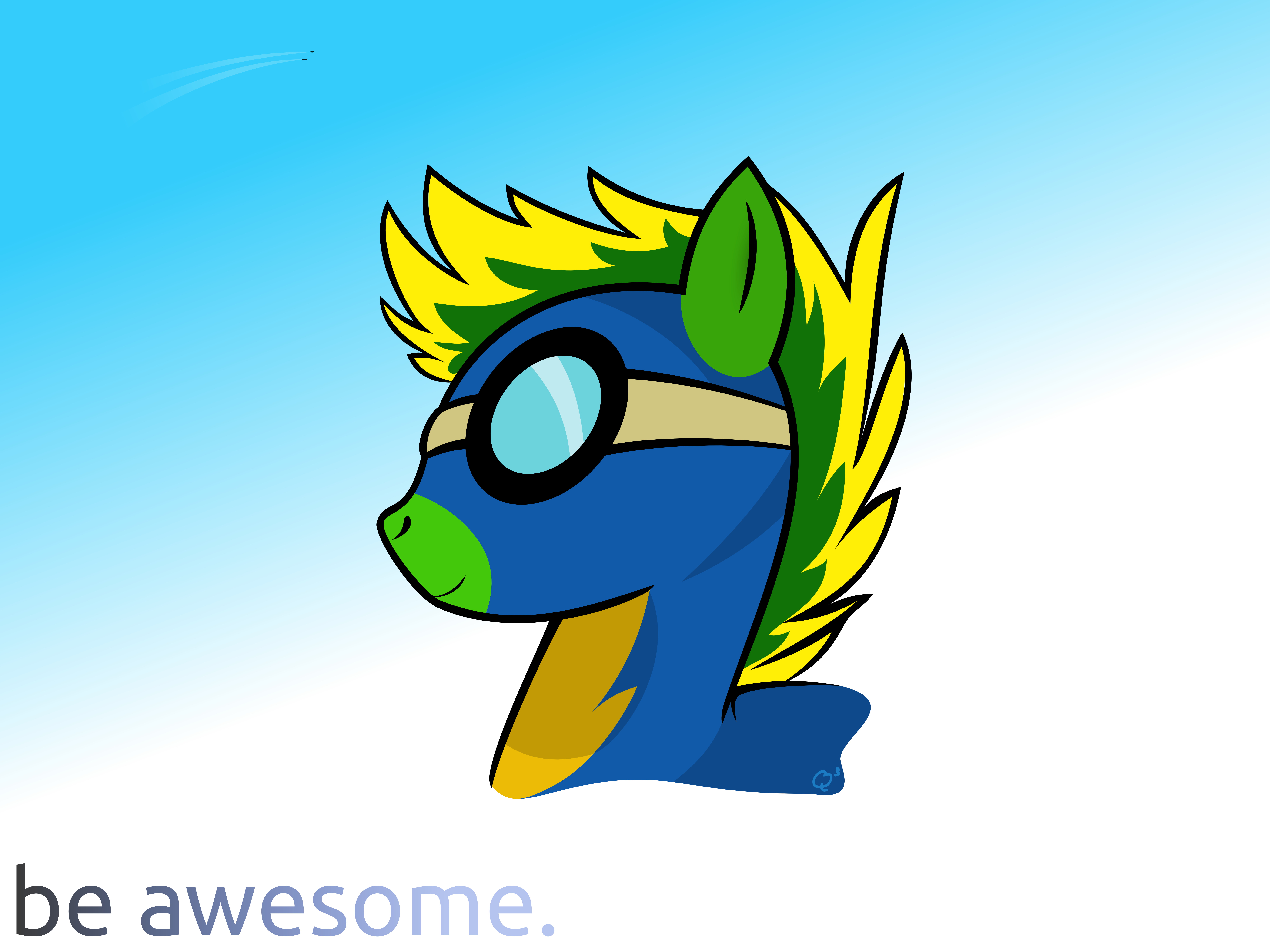 Be Awesome. by Quent0S