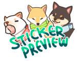 Shiba Stickers (RB)