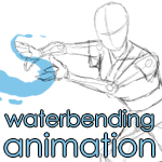 Waterbending Animation by Nylak
