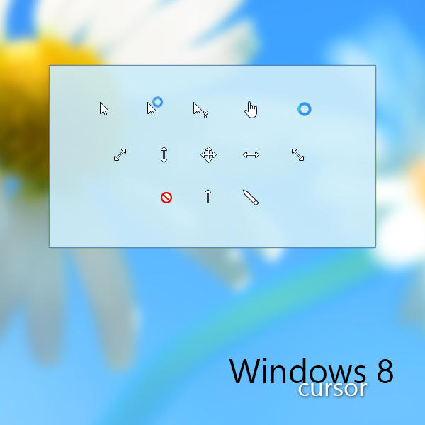 windows 8 animated cursors
