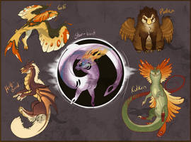 Dragon baby Adopts Sheet - CLOSED by Winterfaux