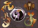 Dragon baby Adopts Sheet - CLOSED