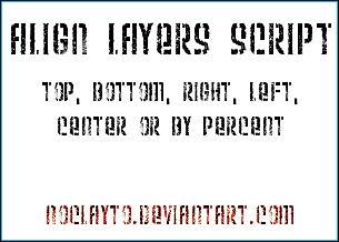 Align Layers Script by noclayto