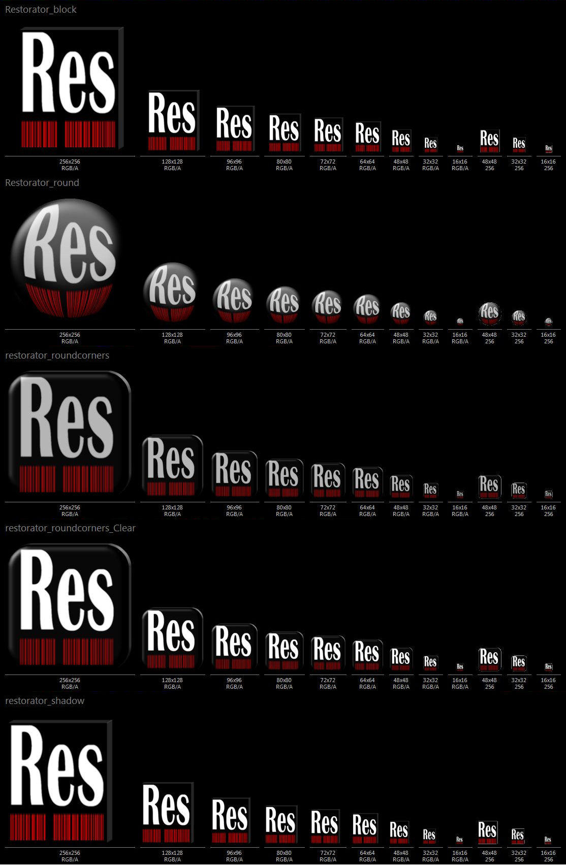 Restorator Icons by Mardiba