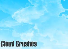 Cloud Brushes by JAKoriginal