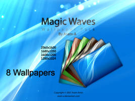 Magic Waves - wall. pack by Aram-A