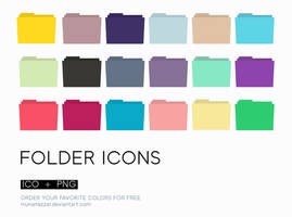 Minimal Folder Icons 1.0 by MunaNazzal