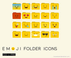 Emoji Floder Icons
