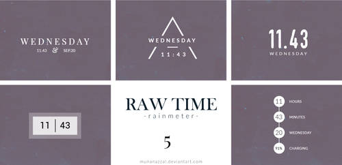Raw Time Pack 5 [New Pack]