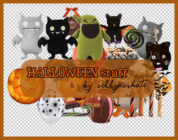 PNG's: Halloween stuff by sellyourhate