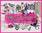 PSD's: Doodles and drawings II