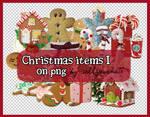 PNG: Christmas Items I