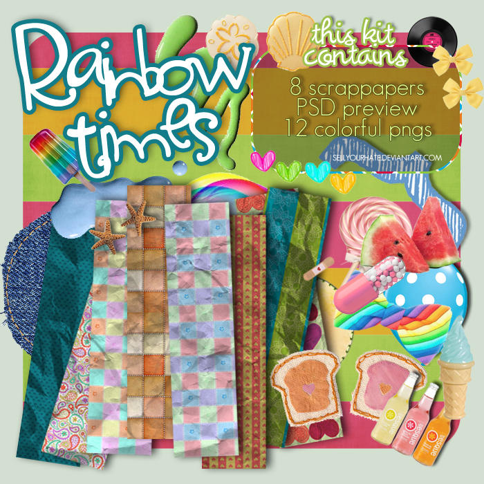 Rainbow Times KIT by sellyourhate